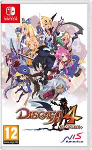 Disgaea 4 Complete+ - A Promise of Sardines (Nintendo Switch) £14.95 Delivered @ Reef Outlet via eBay