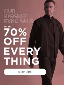 Up to 70% off Sale at Burton plus 10% and Free delivery with codes Eg Overcoat £15.30, Suit Jackets £15.30 @ Burton
