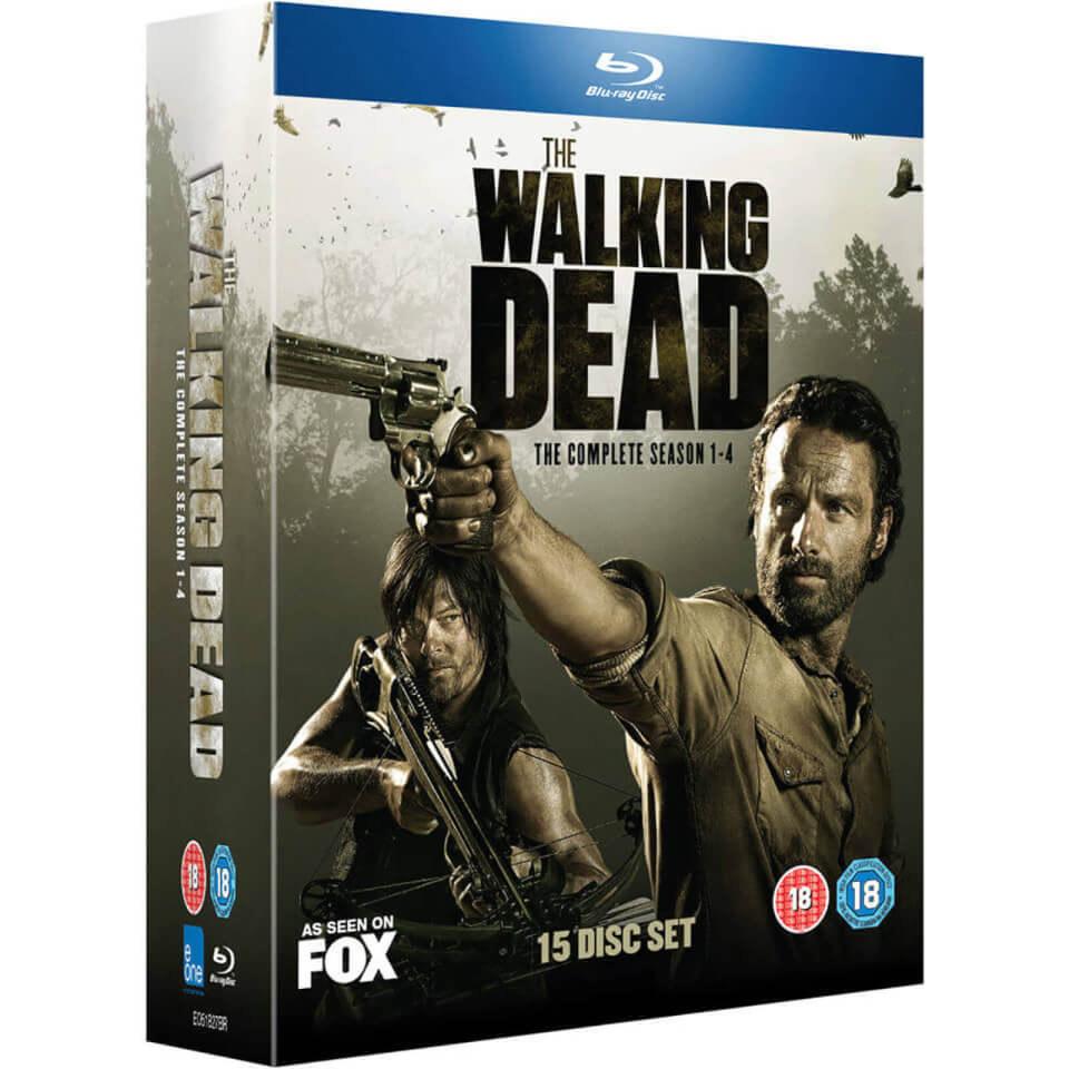 The Walking Dead: Seasons 1-4 Box Set (Blu-ray) - £6.60 Delivered @ Rarewaves