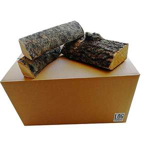 35 Litre Box of Kiln Dried Ash Logs - 25cm cut, hardwood logs, 12-15kg for £9 Prime (£4.49 non-prime) delivery @ Log Delivery / Amazon