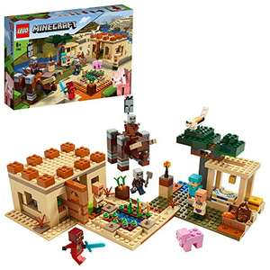 LEGO Minecraft 21160 The Illager Raid Village Building Set with Ravager and Kai, Adventure Toys for Kids £55.24 at Amazon