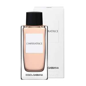 Dolce & Gabbana L'Imperatrice Eau De Toilette 100ml Spray £23 delivered with codes (Mainland UK) @ Beauty Base