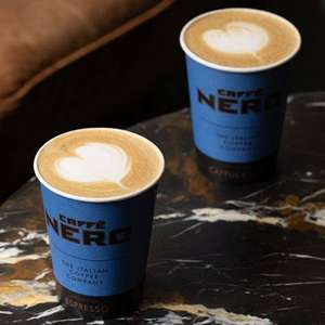 Buy one drink, get one free at Caffè Nero (subject to availability) with O2 Priority App - Available every Saturday and Sunday for 3 weeks