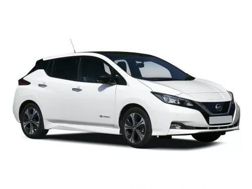 Nissan Leaf Hatchback 160kW e+ Tekna 62kWh 5dr Auto lease deal £277.61 per month includes VAT / 48 months - Total £13325.28 at Leasecar