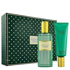Gucci Memoire D'une Odeur Set Eau de Parfum 100ml Spray & 75ml Shower Gel £47 with code From Beauty Scent