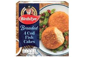 4 Birds Eye Cod Fish Cakes 99p at Farmfoods Sutton