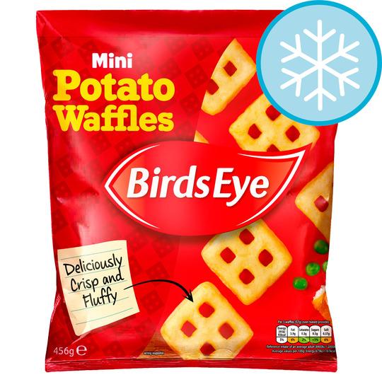 456G birds eye mini waffles 99p Farmfoods sutton