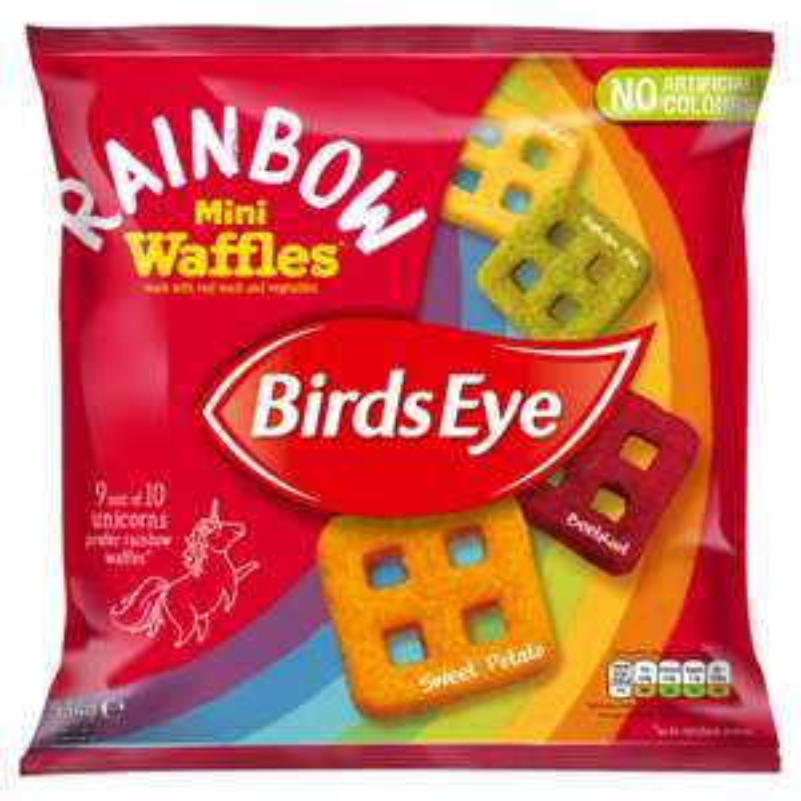 534G BIRDS EYE Rainbow Waffles 99p at Farmfoods Sutton