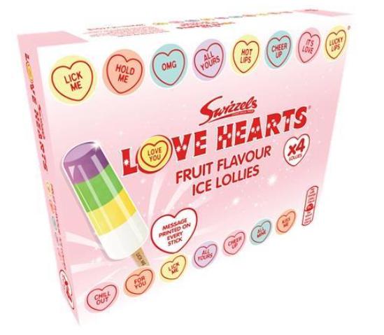 4pk swizzels love heart lollies 99p Farmfoods sutton