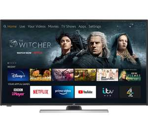 "JVC LT-55CF890 Fire TV Edition 55"" Smart 4K Ultra HD HDR LED TV with Amazon Alexa £289.99 with code at Currys PC World"