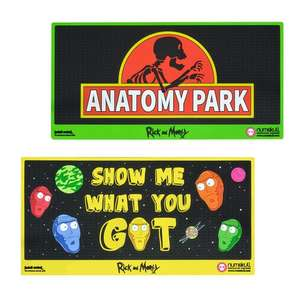 Official Rick And Morty Anatomy Park Door Mats - 762mm x 324mm - £7.98 Each Delivered @ Just Geek