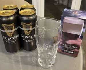 4 x 440 Guinness Cans and Free Guinness Glass £4.75 @ Morrisons (Swinton)
