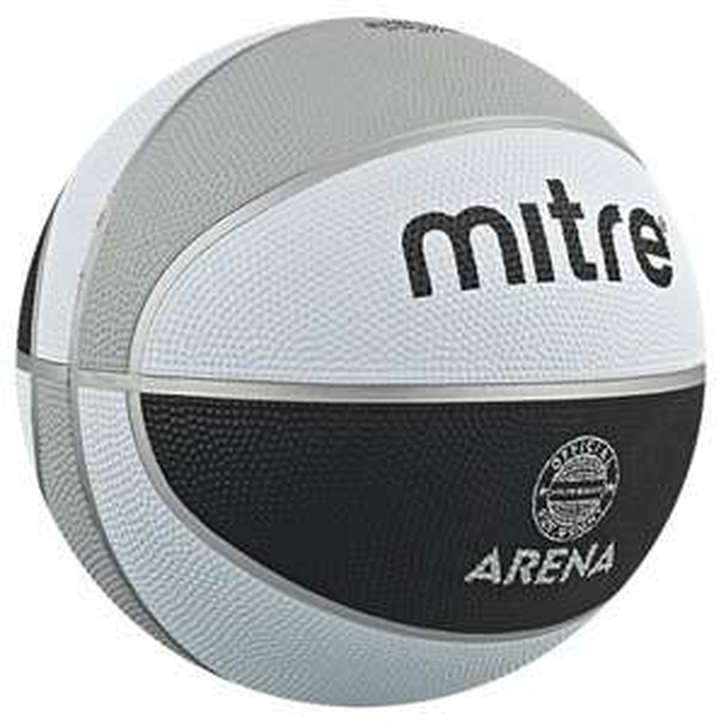 Mitre Arena Basketball (Size 5) £4.34 (Size 6) £5.46 delivered @ Mitre
