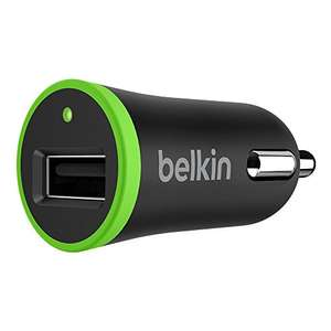 Belkin Ultra Fast Charging 2.4A USB Car Charger for Apple - £4.65 Prime (+£4.49 non Prime) @ Amazon