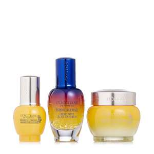 L'Occitane 3 Piece Immortelle Icons Skincare Collection £83.93 Delivered & 3 Easy Pays @ QVC