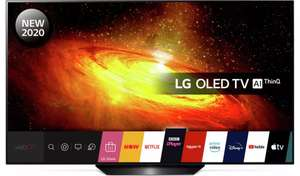 LG 55 Inch OLED55BX6LB Smart 4K UHD HDR OLED Freeview TV £894.05 / LG 65 Inch OLED65BX6LB £1295.10 delivered with code @ Argos