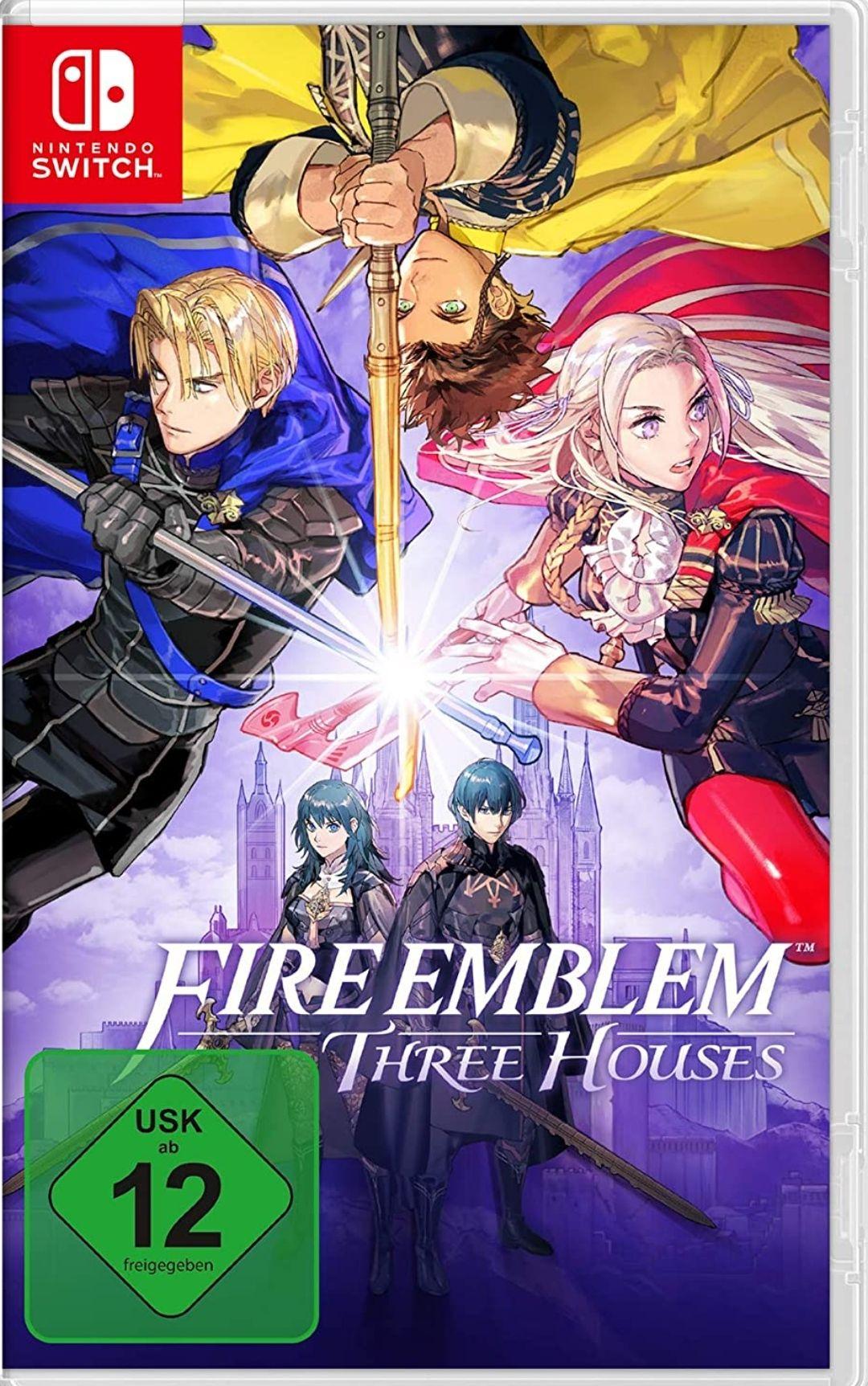 Fire Emblem Three Houses Nintendo Switch £34.57 (UK Mainland) sold by Amazon EU.