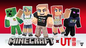 Free Minecraft x Uniqlo Skin Pack DLC FOR PC, Xbox, PS, Switch, Mobile at Minecraft.net