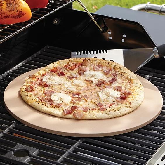 Uniflame 13 Inch Ceramic Pizza Stone £8 + £2.95 Delivery @ George/Asda