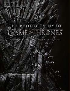 The Photography of Game of Thrones: The official photo book of Season 1 to Season 8 Hardcover Book £27.99 @ Amazon