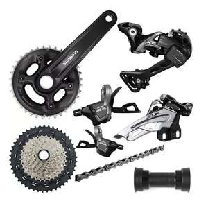 Shimano MT600 Boost 2x11 XT-SLX MTB Groupset £209.99 delivered @ Chain Reaction Cycles