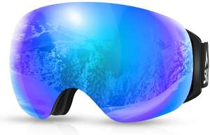 SKL Ski Goggles - £2.85 Prime using voucher / +£4.49 non Prime Sold by SKL Sport Direct and Fulfilled by Amazon