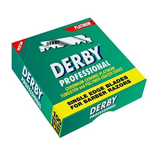 Derby Professional Single Edge Razor Blade 100-Pieces £3.99 / £3.79 S&S (Prime) + £4.49 (non Prime) at Amazon