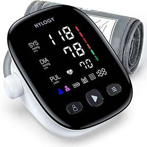 HYLOGY Blood Pressure Monitor for Upper Arm, 22-42cm - £20.78 using voucher Sold by ANYU Tech and Fulfilled by Amazon