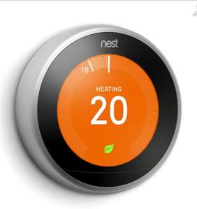 Nest Learning Thermostat 3rd Generation - Free Delivery - £175 @ Whitmore Reans Plumbers Merchants