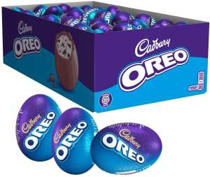 Cadbury Oreo Chocolate Easter Egg 31g Pack of 48 - £16.80 with voucher at Amazon