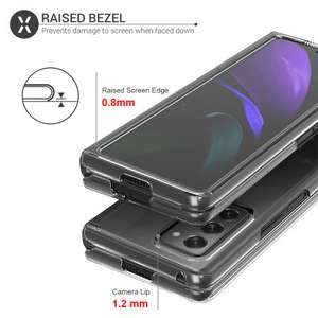 Olixar ExoShield Samsung Galaxy Z Fold 2 5G Smartphone Case - Clear £9.99 + £1.34 delivery @ mobile Fun