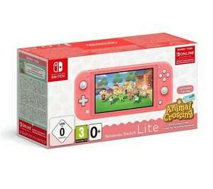 NINTENDO Switch Lite Coral & Animal Crossing: New Horizons DAMAGED BOX - £180.68 @ eBay Currys Clearance