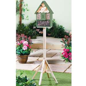 Insect House for pollinators (solitary bees, ladybirds etc) Height 136cm - £17.99 delivered using code @ Coopers of Stortford