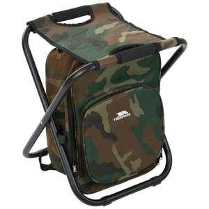 Jubilee Backpack Chair for Hiking & Fishing £11.94 delivered (Camo or Blue) @ Trespass