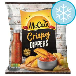 Mccain Crispy Dippers 650G £1.13 (+ Delivery / Minimum Basket Charges Apply) @ Tesco