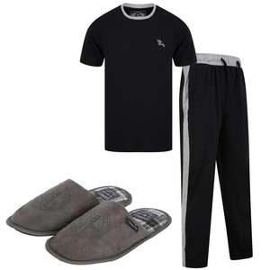 Men's Loungewear Set + Slippers £19.99 delivered @ Tokyo Laundry