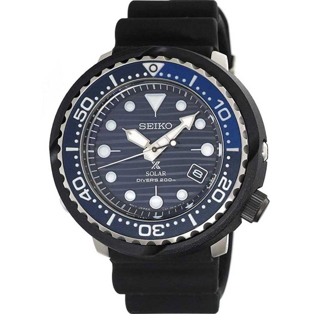 SEIKO PROSPEX Men's Save the Ocean Solar Tuna DiverSNE518P1 £277 @ Francis & Gaye