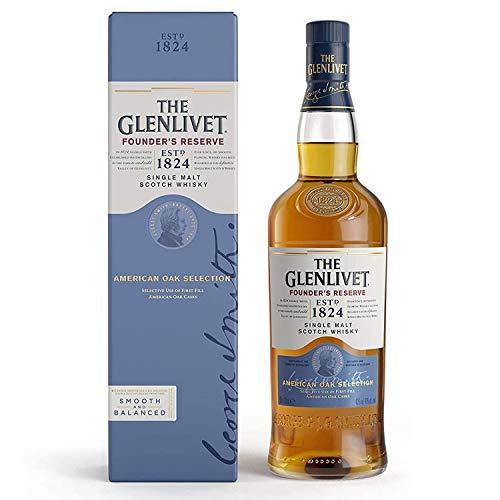 The Glenlivet Founder's Reserve Single Malt Scotch Whisky, 70cl - £24 @ Amazon