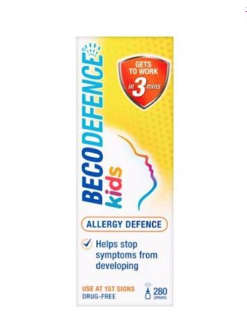 Becodefence kid's allergy defence nasal spray 50p Hyde park Sainsbury's