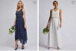 Showcase Dp's Dresses Wedding, Prom, Evening, Occasion from £11 + £2.99 delivery at Dorothy Perkins