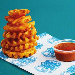 Free Baked Crispy Criss-cut Fries from Leon via O2 Priority