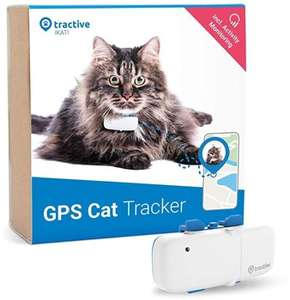 Tractive IKATI GPS cat tracker £24.99 @ Box (Subscription Required)