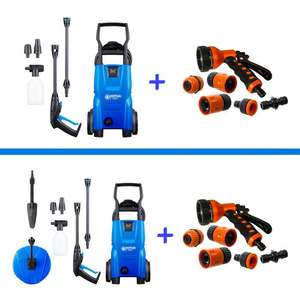 Nilfisk Compact C110 Pressure Washer £77.99 / With Car Pressure Washer Bundle £95.99 + Free Spray Kit @ Cleanstore