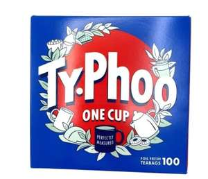 100 typhoo tea bags one cup 89p Farmfoods sutton