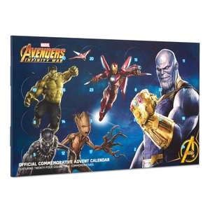 Marvel Avengers: Infinity War Collectable Coin Advent Calendar - £19.99 + £1.99 delivery @ Zavvi