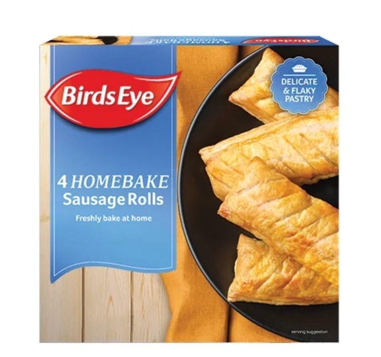 4 Pack Birds Eye Sausage Rolls 89p @ Farmfoods