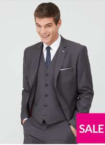 Up to 75% off Mens Suits e.g Jacket £13.50 Trousers £9.60 Waist cost £10.50 + £3.99 delivery @ Very