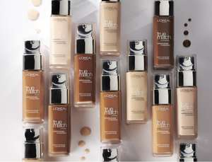 L'Oreal Paris True Match Liquid Foundation SPF 17 30 ml Now £5.52 / £5.24 S&S Free delivery with Prime (£4.49 NP)