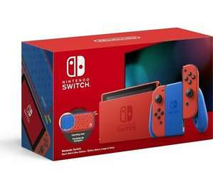 NINTENDO Switch - Mario Red & Blue Edition - Open Box - £261.63 delivered @ currys_clearance / eBay