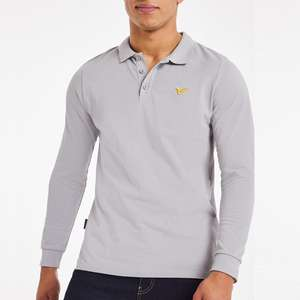 Voi Storm Long Sleeve Polo Shirt in 4 colour options - now £13.60 delivered using code @ Jacamo
